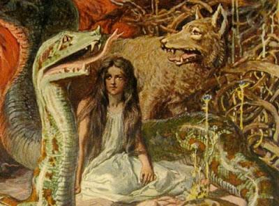 The Norse Mythology Blog   norsemyth.org   Articles ... Lokis Children Norse Mythology