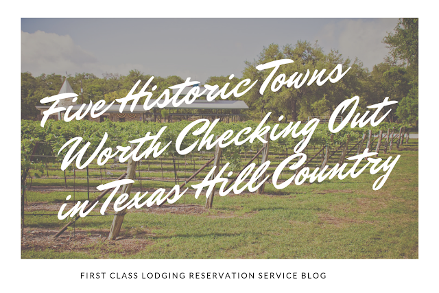 5 historic towns in Texas Hill Country blog cover image