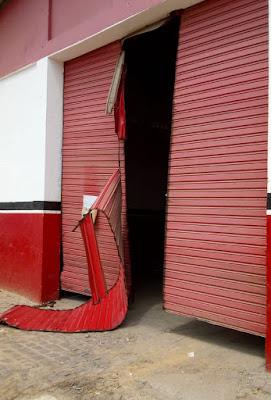 Porta arrobada