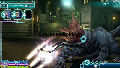 Download Game Crisis Core Final Fantasy VII  for PSP PPSSPP ISO CSO High Compress