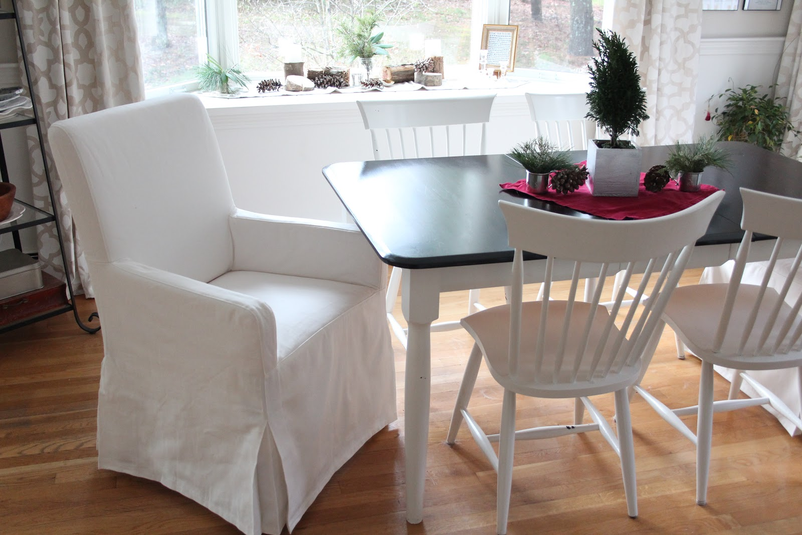 Chair Covers New Year Baby Bouncy Pink Getting The Wrinkles Out Of Slipcovers Shine Your Light