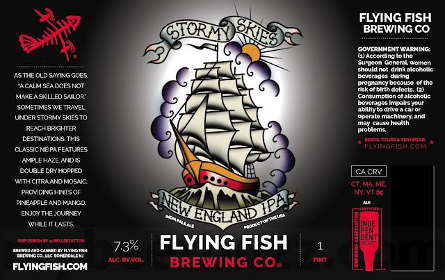 Flying Fish Adding Double Fishted, New England IPA & TradewindsCans