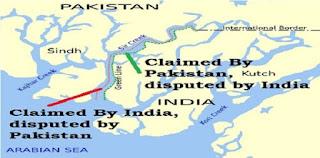 Sir Creek dispute in hindi