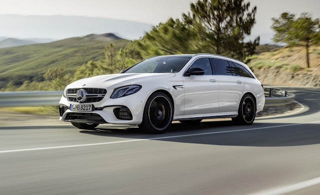 2018 New Mercedes E63S Wagon Review front view