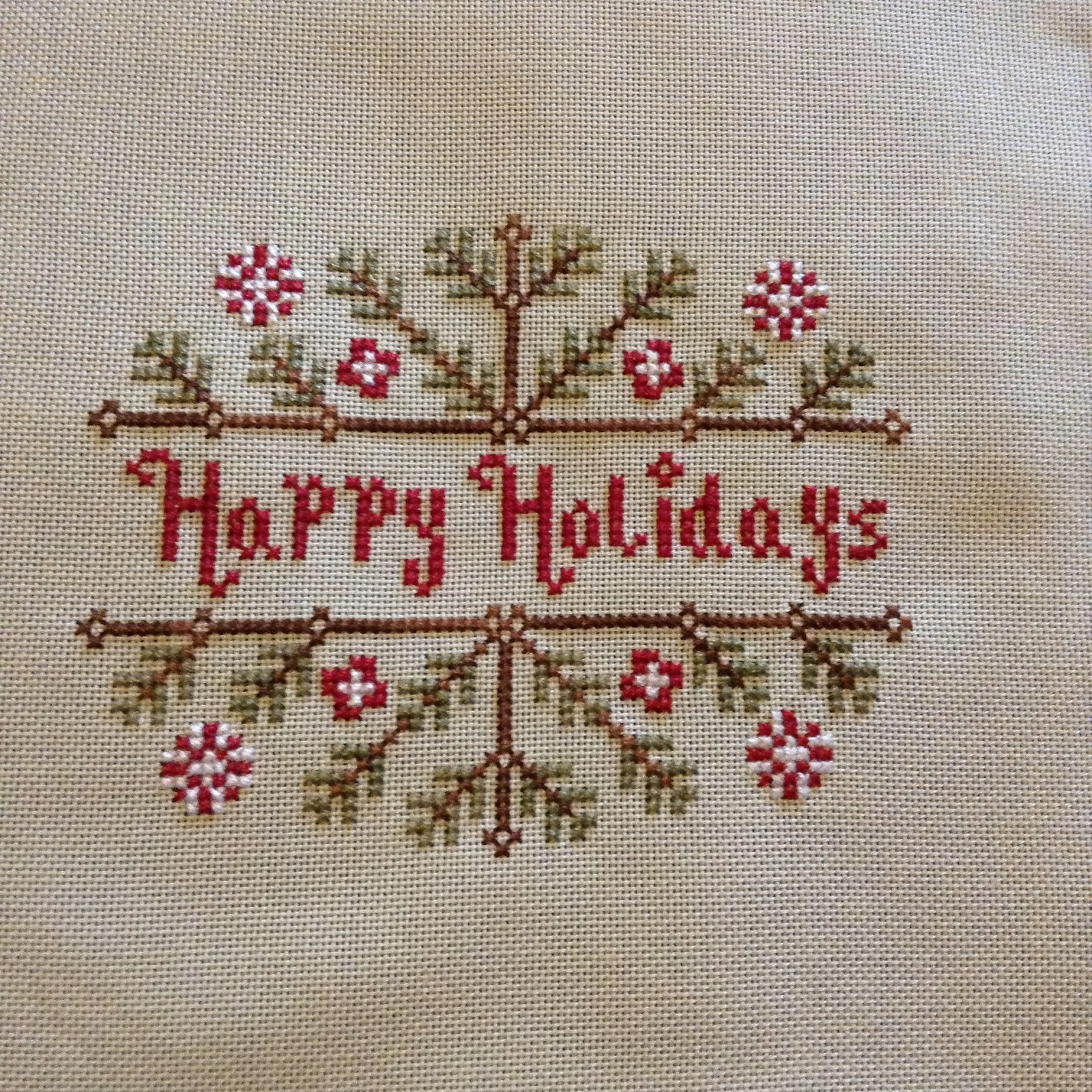 Country stitcher for Country living magazine cross stitch