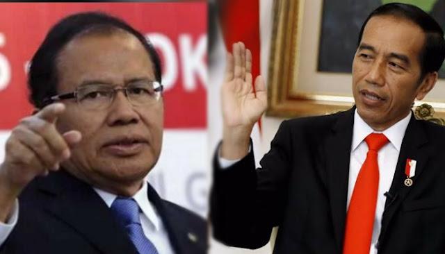 Rizal Ramli Minta Prabowo Cueki Jokowi yang Tiru Gaya George HW Bush