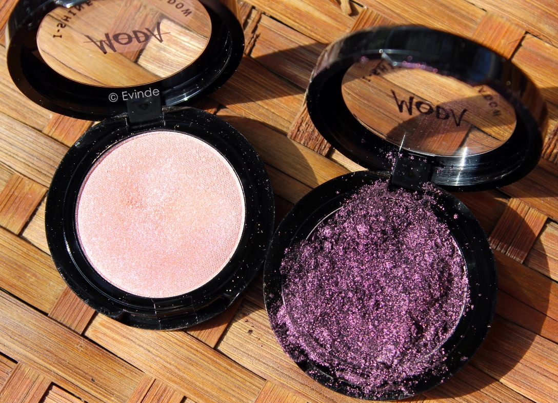 Moda I-shine eyeshadows
