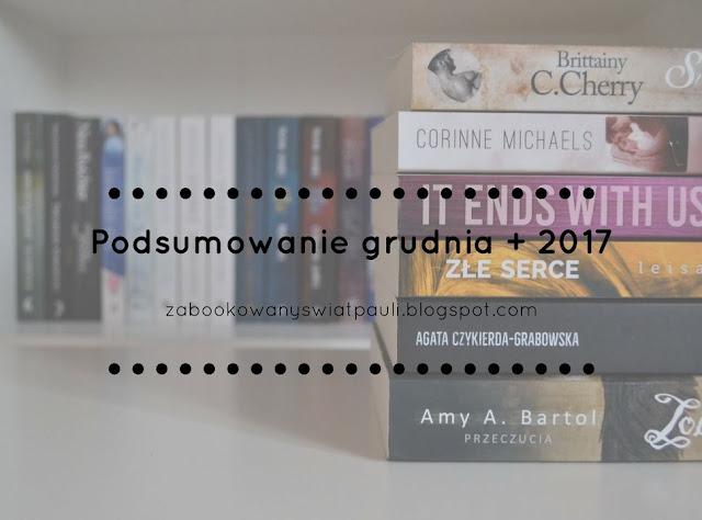 Podsumowanie grudnia + 2017