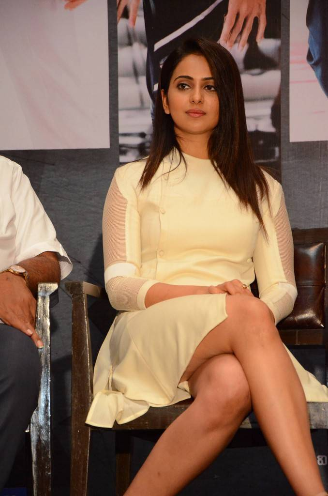 Rakul Preet Singh At Spyder Telugu Movie Press Meet Gallery