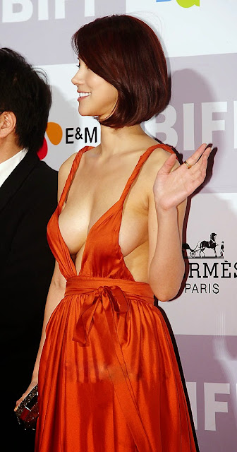 Oh In Hye 오인혜 Hot Red Carpet Dress Photos 06