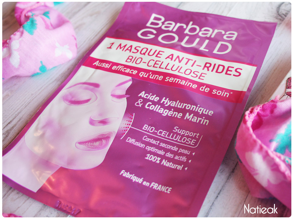 Masque anti-rides Barbara Gould