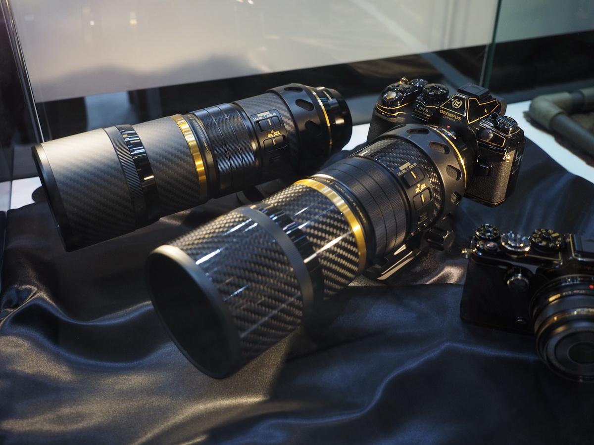 Olympus E-M1 Mark II и M.Zuiko 300mm f/4 Pro в черно-золотом исполнении