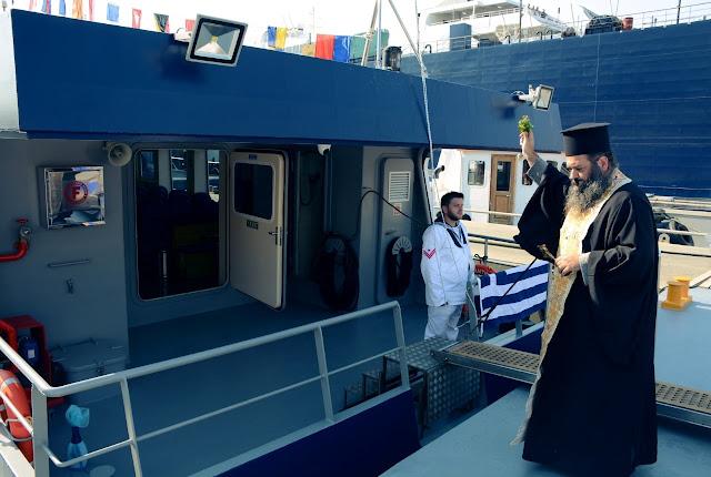 Έπεσε στο νερό το Ελληνικής σχεδίασης & Κατασκευής Σκάφος (ΒΒ) «ΑΝΤΙΓΟΝΙΣ» του ΠΝ (φωτό)