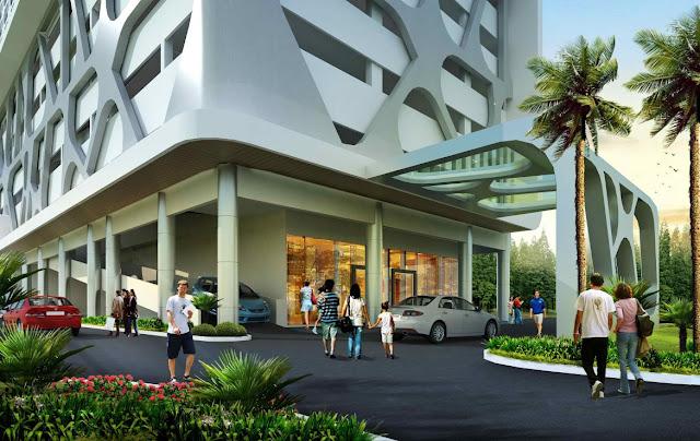 Tampak Muka View Apartemen B Residence BSD City 3 Menit ke Mall AEON www.rumah-hook.com