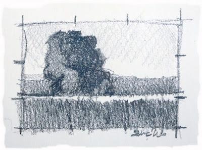 Pintar boceto para Paisaje
