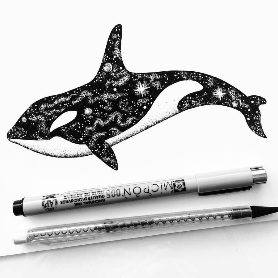 08-Space-Orca-Whale-Raven-Pavneet-Sembhi-www-designstack-co