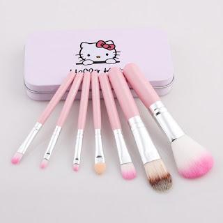 kuas hello kitty,kuas kitty,jual kuas makeup