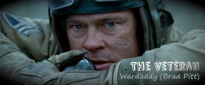 A Space Blogyssey: 'Fury' Review - A Lesson in War Movie