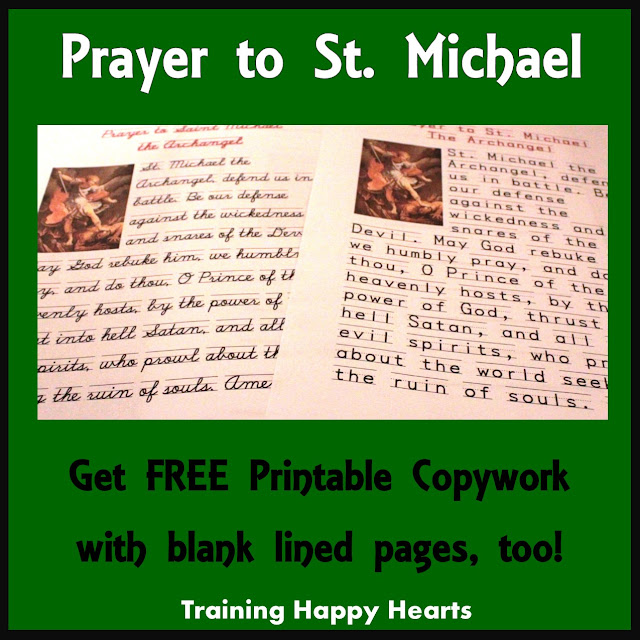 photo about St. Michael the Archangel Prayer Printable named Performing exercises Delighted Hearts: Just take Your Absolutely free Printable Prayer toward St
