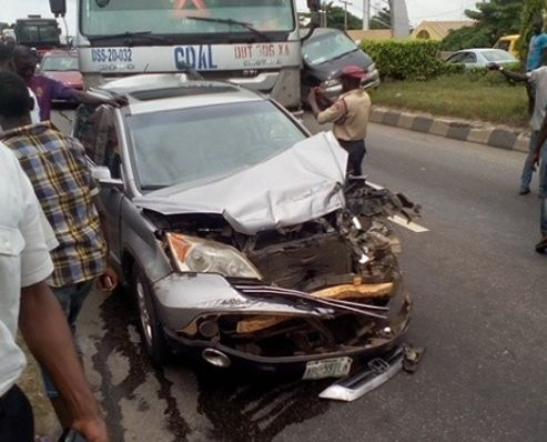 Woman Killed In Accident In Lagos... hours before traveling to America