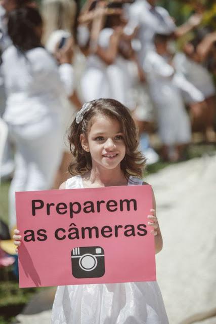 Preparem as cameras