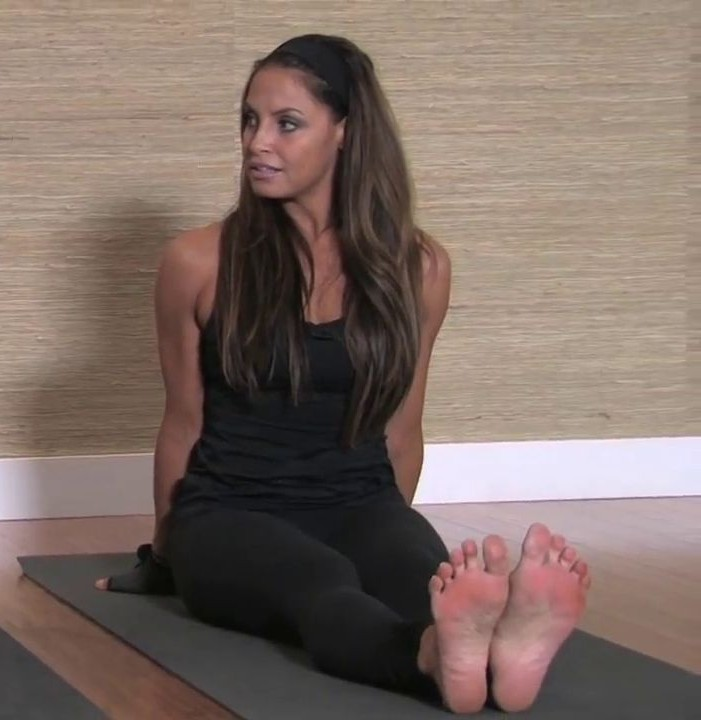 Trish Stratus Yoga