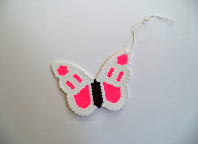 DIY Perler Bead Ornament