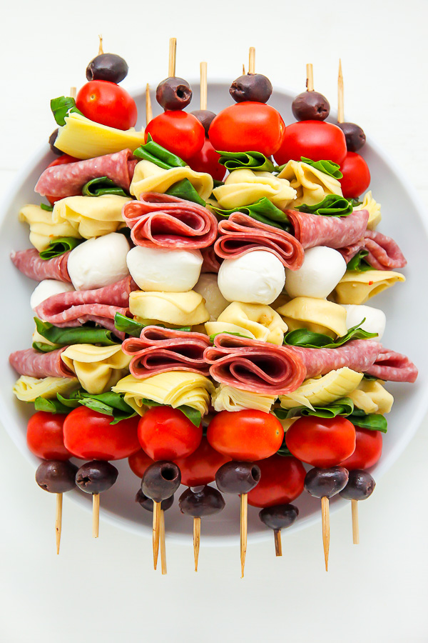 The Best Antipasto Skewers Recipe