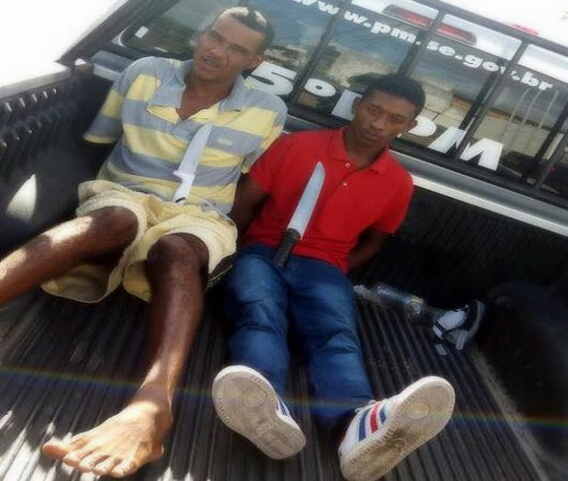 Suspitos de cometer diversos assaltos a ônibus são presos em Aracaju