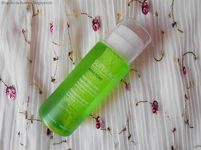 Missha Super Aqua Mini Pore Tightening Toner Recenzia