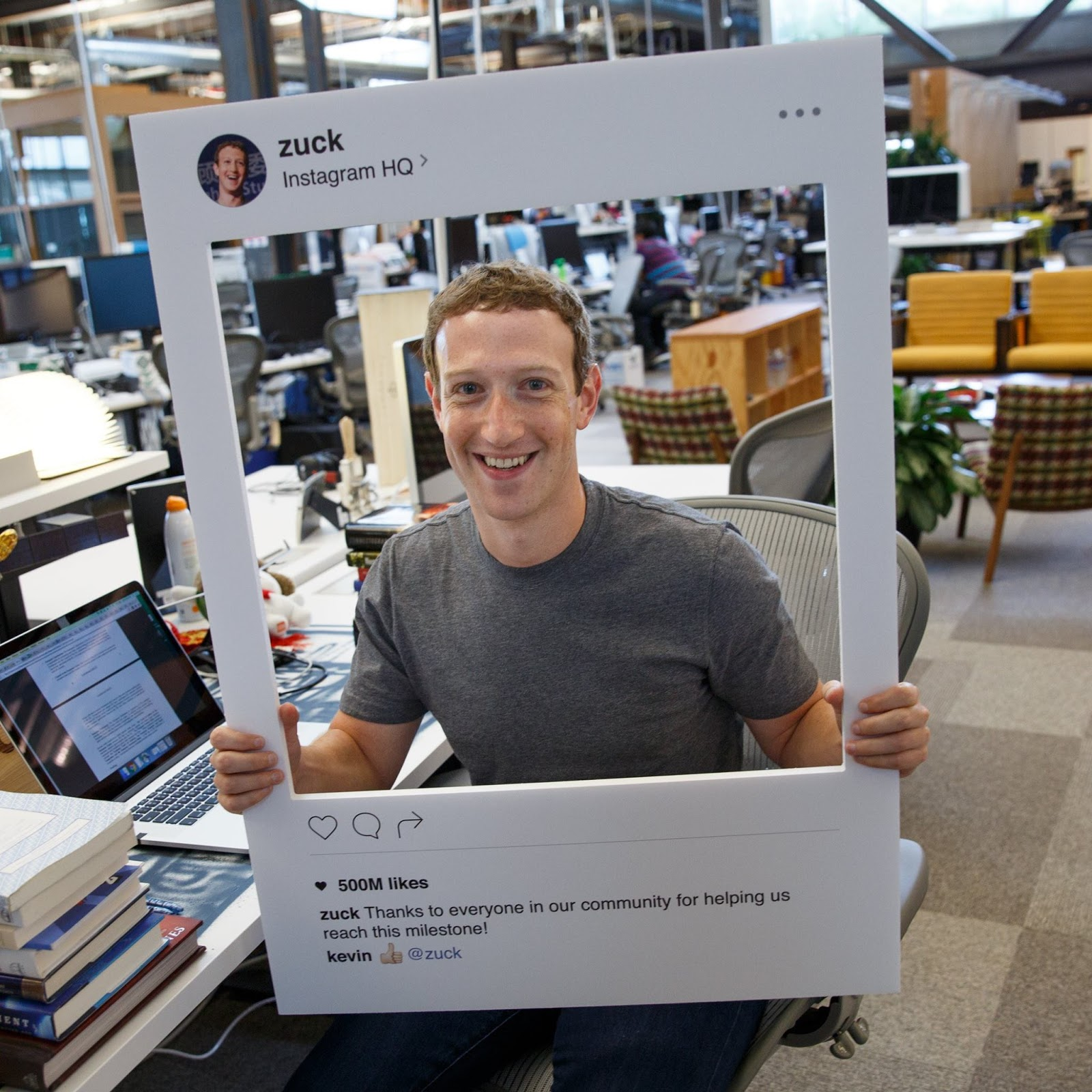 Mark Zuckerberg Covers his laptop camera and mic