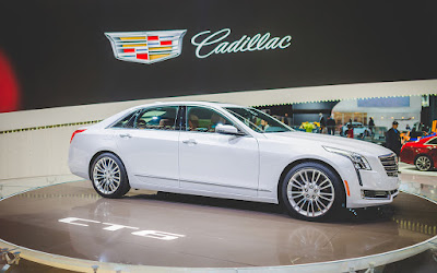 All New 2017 Cadillac CT6 Sedan Hd Wallpapers