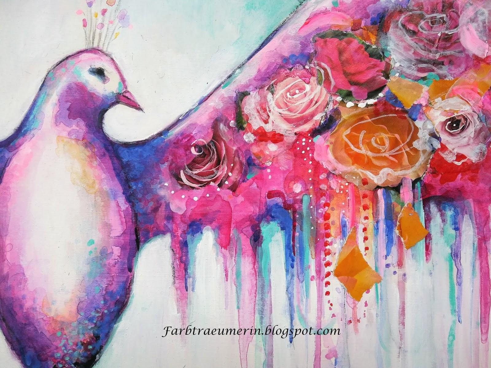 Vogel Malerei