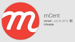 mcent recharge app