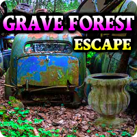 AVMGames Grave Forest Escape Walkthrough
