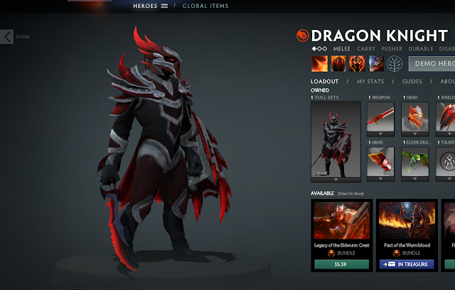 Mod Deadra Dragon Knight