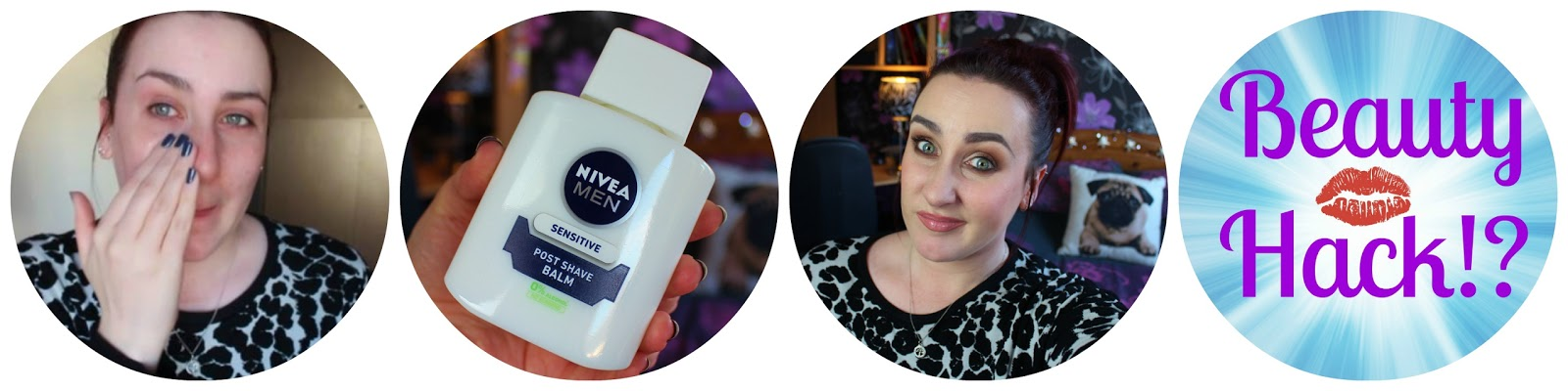 Nivea Men Post Shave Balm as a makeup primer