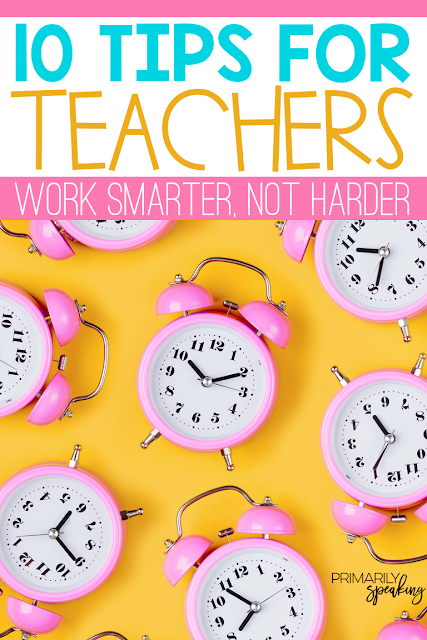 Teacher Tips Balance Productivity Self-Care