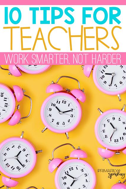 Teacher Tips Balance Productivity Self-Care