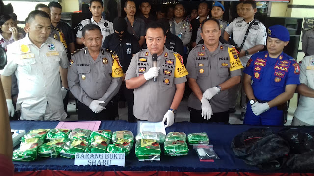 Terlibat Peredaran 15 Kg Sabu, Ketua Golkar Tanjungbalai Selatan Resmi Dipecat