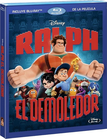 Wreck-It Ralph (Ralph, El Demoledor) (2012) 1080p BluRay REMUX 22GB mkv Dual Audio DTS-HD 7.1 ch