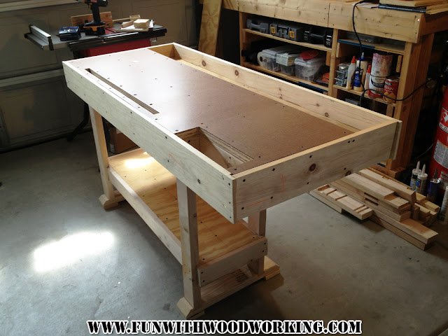 My Project New Yankee Workshop Workbench Leveling And