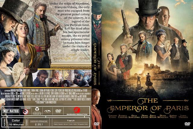 The Emperor Of Paris DVD Cover
