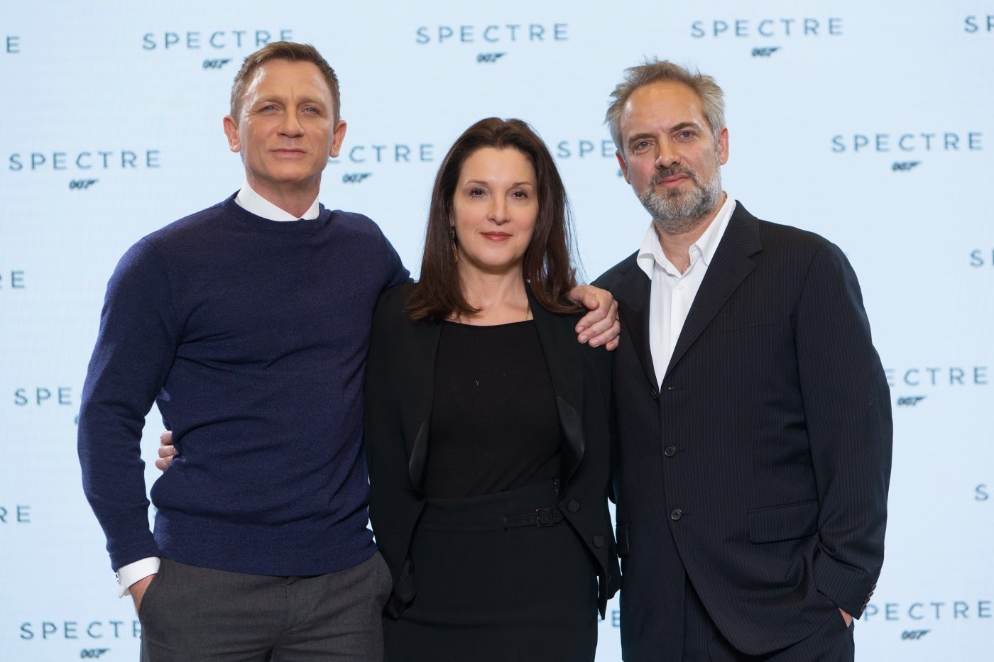 Bond 24 SPECTRE: Daniel Craig, Barbara Broccoli, Sam Mendes