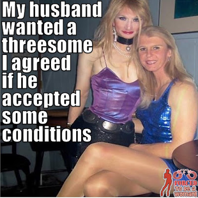 Some conditions Sissy TG Caption - TG Captions and more - Crossdressing and Sissy Tales and Captioned images