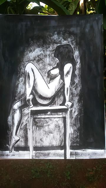 Dibujo en tinta china