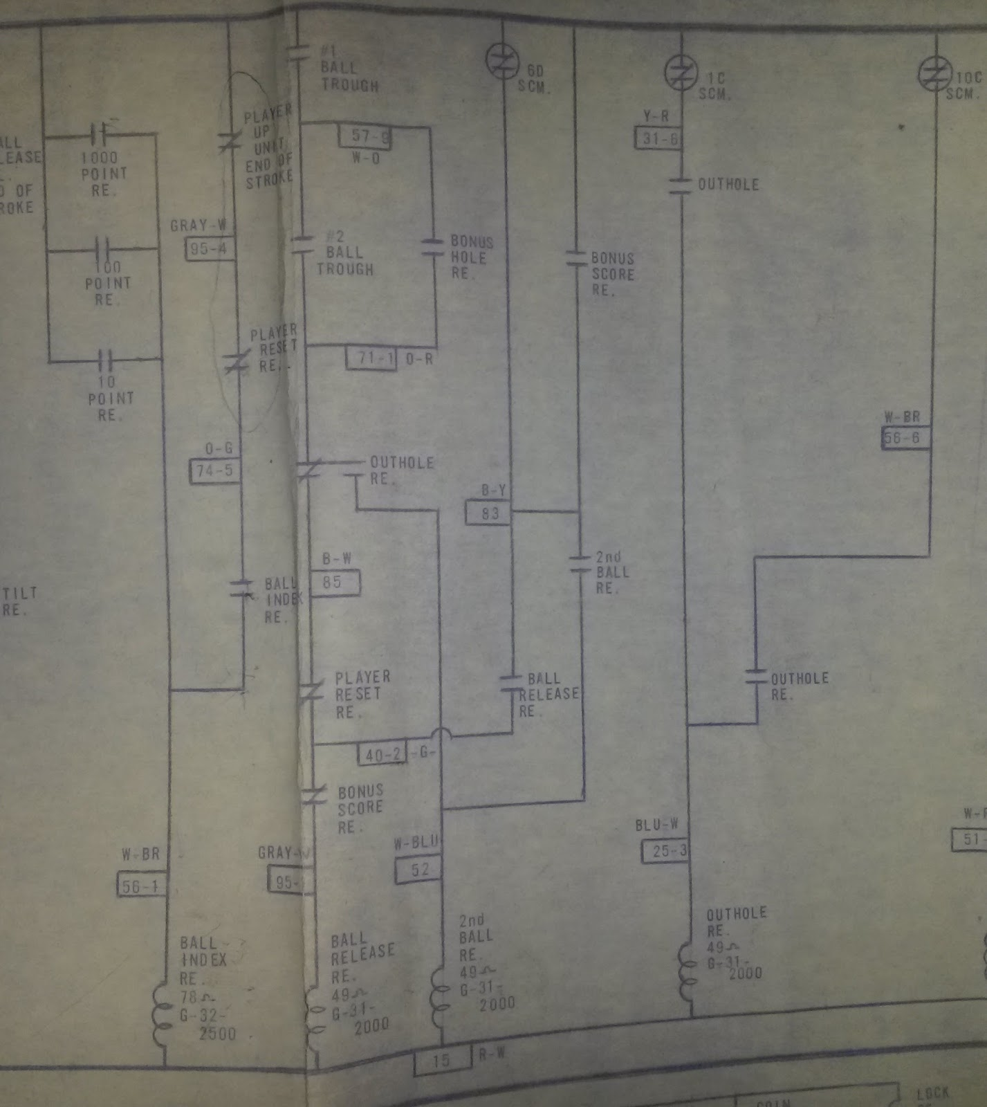 Chasing bugs. pindude152's EM pinball and bingo repair blog ... on condenser fan diagram, points and condenser diagram, condenser motor, condenser water pump, hvac compressor diagram, condenser parts diagram, condenser coil, condenser relay diagram,