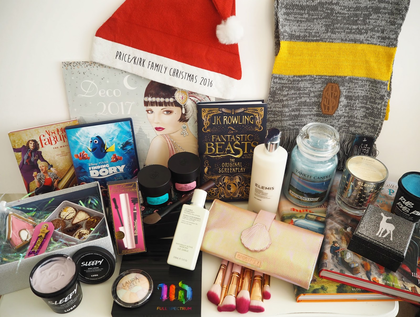What I Got For Christmas 2016, Katie Kirk Loves, Christmas Gifts, Christmas Presents, UK Blogger, Fashion Blogger, Beauty Blogger, Lifestyle Blogger, Present Haul, Santa Hat