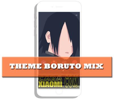 Download Thema MIUI untuk HP Xiaomi Boruto Themes Mix by Sahydin