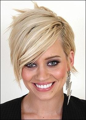 Hairstyles Kimberly Wyatt S Full Layered Short Haircut
